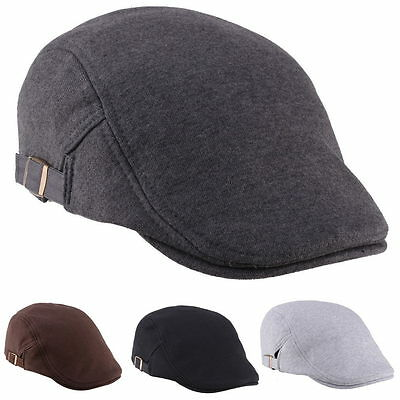 Casual Men Women Duckbill Ivy Cap Golf Driving Flat Cabbie Newsboy Beret Hat