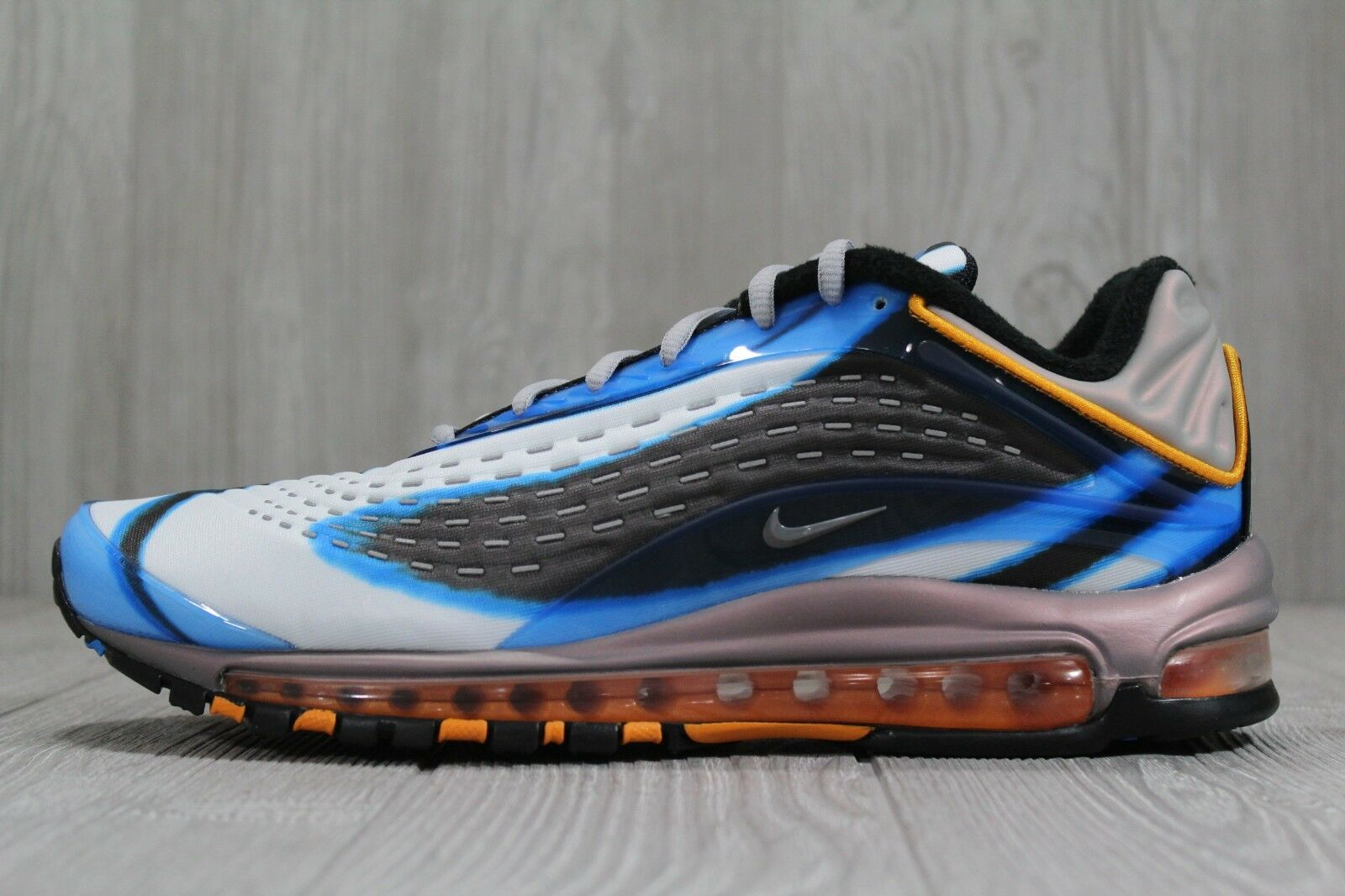 37  Nike Air Max Deluxe Photo bluee orange Peel shoes SZ 10.5 11 12.5 AJ7831-401