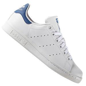 Adidas Original Stan Smith S74778 Baskets Bleu/Blanc Chaussures de Sport Femme