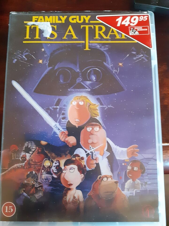 Family guy its a trap, DVD, andet