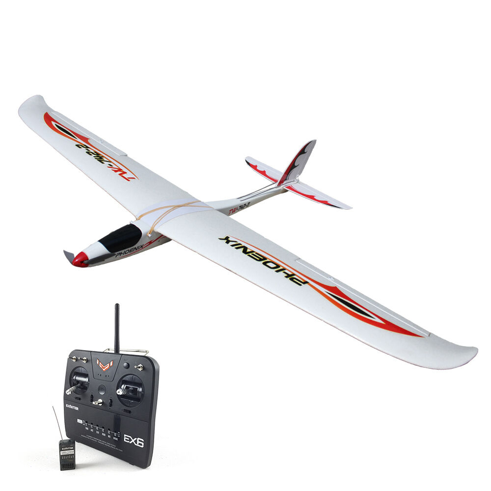 Volantex Phoenix1600 Glider RC RTF Propeller Plane W  Motor Servos ESC Battery