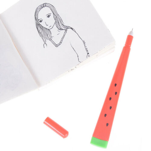 Korean Stationery Cute Watermelon Pen 0.5mm Creative School Office Gel Pen AL