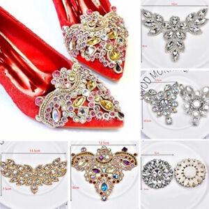 DIY-Rhinestone-Trim-Crystal-Chain-Beaded-Applique-Sew-Iron-On-Bridal-Dress-Decor