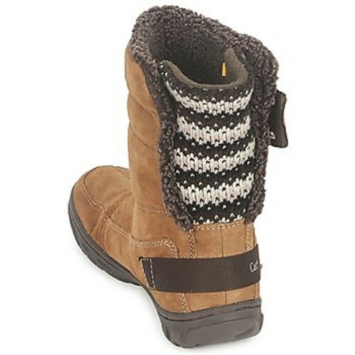 Ankle Ladies Syayna Caterpillar Brown Boots Winter Cola On Pull Ux5rx8qw