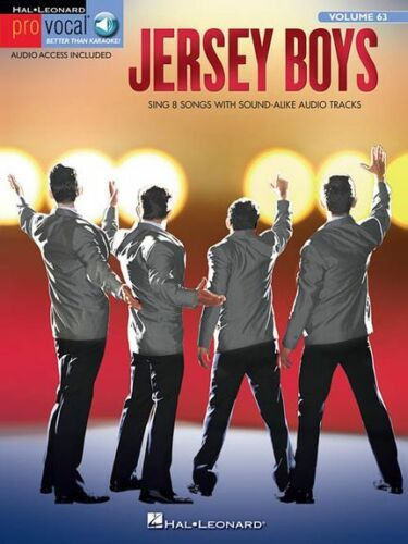 Pro Vocal Men/'s Edition Jersey Boys Sing Four Seasons VOICE Audition Music Book