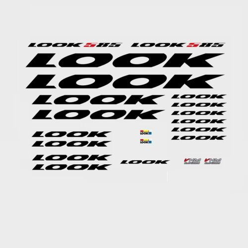 LOOK 585 Bicycle Frame Stickers Decals Transfers n.1