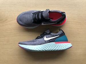 Details about NIKE EPIC REACT FLYKNIT GS UK SIZE 3 GUNSMOKEBLACKGEODE (943311 010)