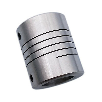 "US Stock 9.5 x 12.7mm 3//8/"" x 1//2/"" Flexible Shaft Coupling Rigid Coupler D25 L30"