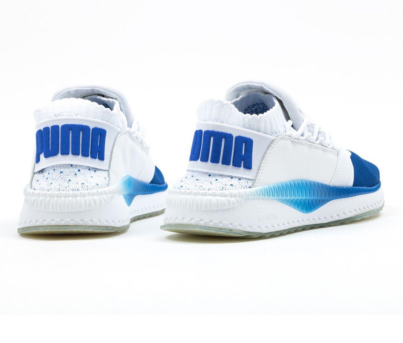 New Shoes Puma Tsugi Shinsei Nido Running Training Shoes New Casual Blue-White 364936-02 0d8d05