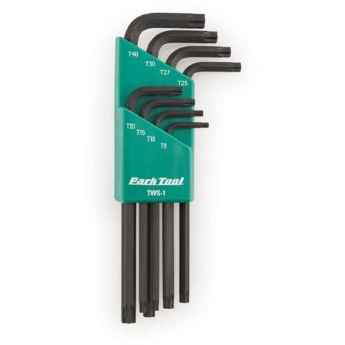 Park Tool TWS-1 L-Shaped Torx /& Reg; compatible Clé Set