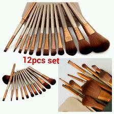 Professional Make Up Brush Set Fondazione Fard Cipria Kabuki stile 12pcs