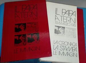 IL-PAPA-A-TERNI-19-3-1981-LA-CRONACA-LA-STAMPA-LE-IMMAGINI-COFANETTO-3-LIBRI