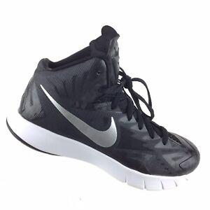 Details about Nike Lunarlon Hyperquickness Black Basketball 652775 001 Men's 7.5 Shoes R8S10