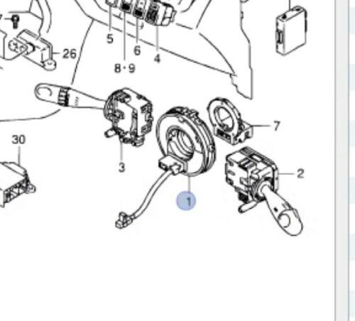 Marca Nuevo Original Suzuki Alto conmutador rotativo cebo carrete de cuerno 1.0 2009-2016