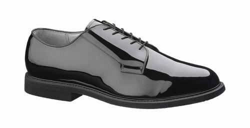 Bates 007-B Mens Premium High Gloss Leather Sole Uniform Shoe FAST FREE USA SHIP