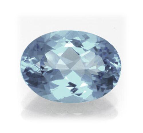 Natural London Topacio Azul 5mm X 4mm Oval Corte Piedra Preciosa Gema