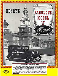 Henrys Fabulous Model A Ford History Restoration Guide ...