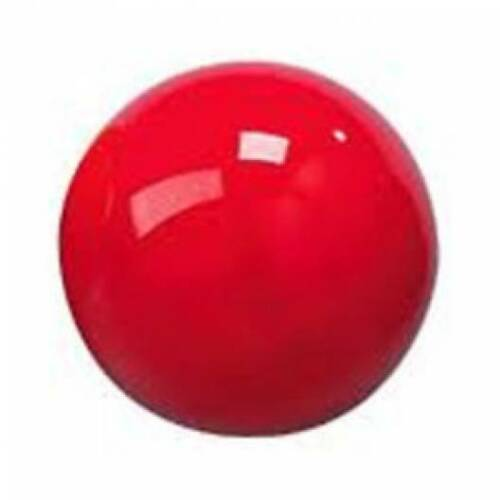 RED REPLACEMENT 2 POOL BALL FOR A STANDARD UK SIZE