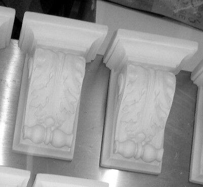 lot 2 appliques,etagere,console en plâtre (staff) 12x9xh:18cm
