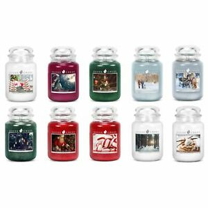 NEW-HOLIDAY-Goose-Creek-24oz-Scented-Large-2-Wick-Jar-Candle-RARE