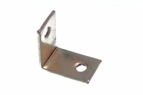 Corner Brace Support EB Laiton Plaqué PK de 40 25 mm x 25 mm