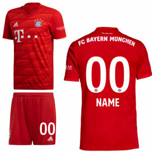 Adidas-FCB-fc-bayern-munich-Home-kit-heimset-2019-2020-ninos-jugadores-name