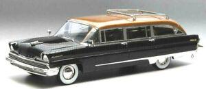 Maravilloso-MODELCAR-Lincoln-Pioneer-Station-Wagon-1956-Negro-Cobre-1-43