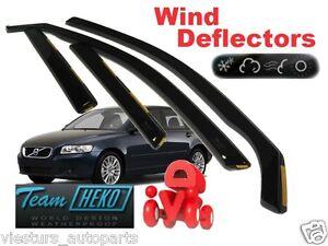 VOLVO-V50-2004-2015-Wind-deflectors-4-pc-HEKO-31232