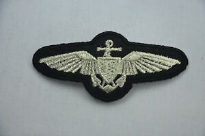 PILOT-UNIFORM-WINGS-8cm-Embroidered-Sew-Iron-On-Cloth-Patch-Badge-Applique