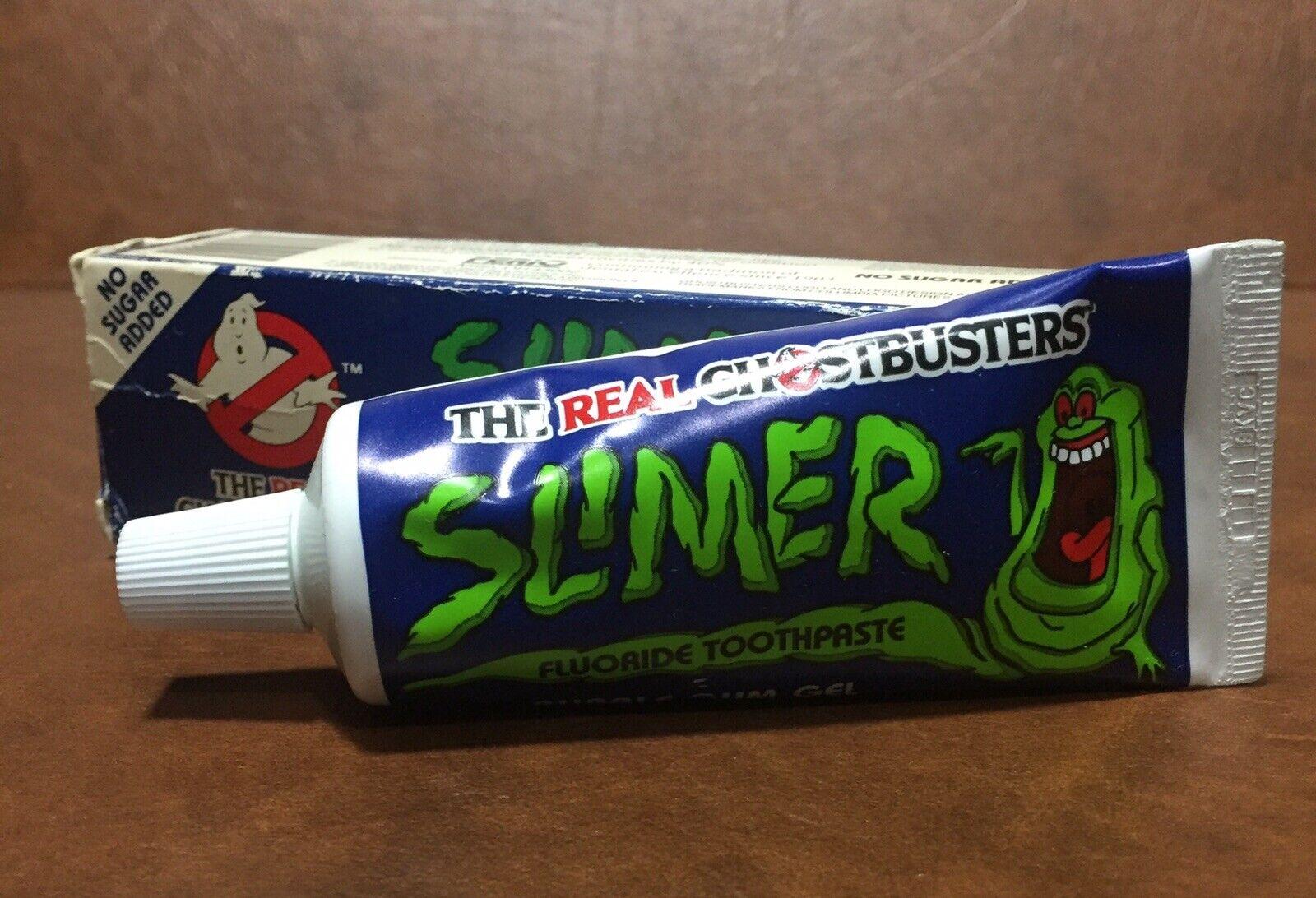 Ghostbusters SLIMER Bubblegum Toothpaste