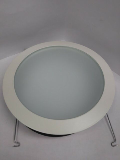 """*NEW* Juno 615G-WH 6/"""" Recessed Lighting Gold Baffle with White Trim Ring"""