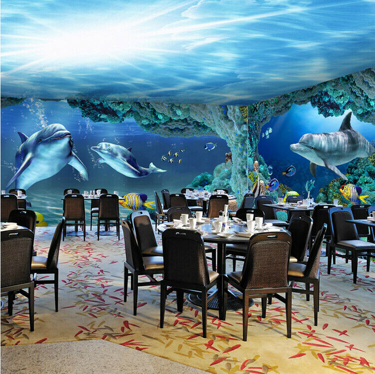 3D Unterwasserwelt 73 Tapete Wandgemälde Tapete Tapeten Bild Familie DE Summer