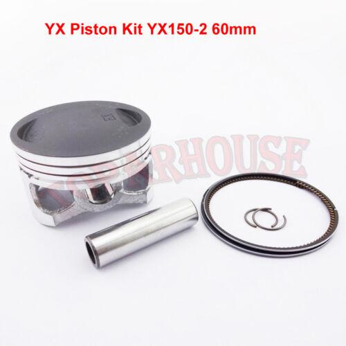 YX150 160 Kolben Kit 60mm Für YX 150cc 160cc Pit Dirt Bikes YCF Stomp Thumpstar