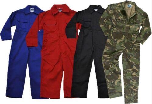 Enfants Enfants Garçons Filles polisson Junior Combinaison De global Boilersuit Navy