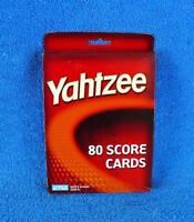 Yahtzee 80 Score Cards By Parker Brothers 2004 - Sealed