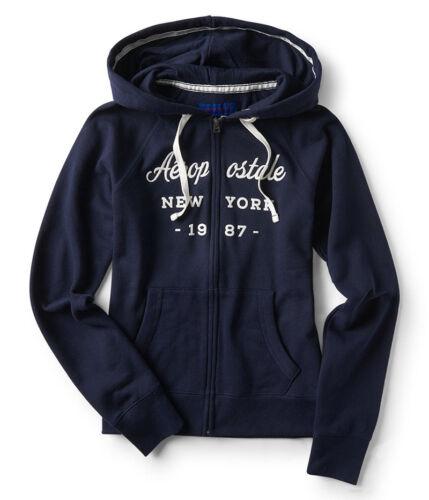 NWT AEROPOSTALE Aero Women/'s Full Zip Zipper Sweatshirt Hoodie  XS S M L XL XXL