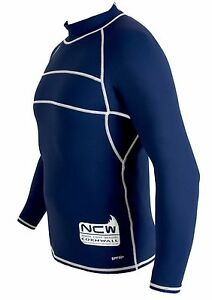 Details about ADULTS Long Sleeve Rash Vest / Guard strong flatlock stitch &  SPF protection XXL