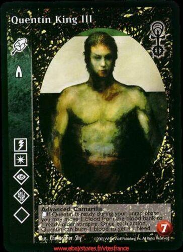 VTES V:TES - Malkavian // Anarchs Quentin King III ADV