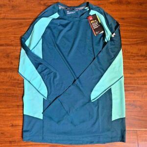 Under-Armour-HexDelta-Men-s-LARGE-Running-Long-Sleeve-Shirt-1298834-716-NWT