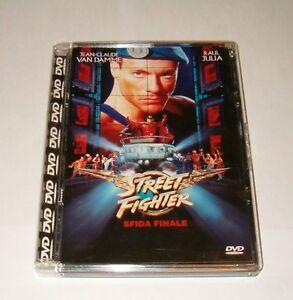 STREET-FIGTER-Sfida-Finale-Jean-Claude-Van-Damme-Raro-Super-Jewel-Box