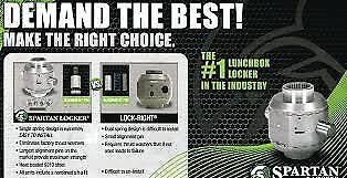 """Suzuki Samurai 6-7//8/"""" Spartan Lunchbox Locker 26 Spline"""