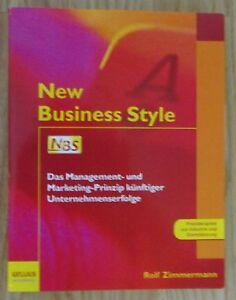 New-Business-Style-Management-Marketing-Zimmermann-Gellius-2005
