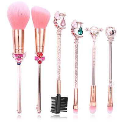 Sakura/Sailor Moon Makeup Brush Set