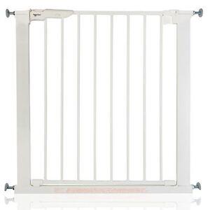 Babydan Premier Vraie Pression Barrière De Sécurité Escalier Blanc 73,5-119,6cm