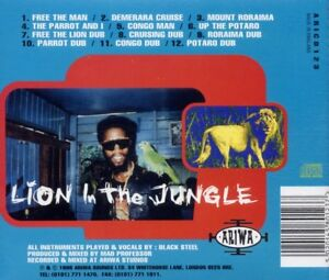 BLACK STEEL - LION IN THE JUNGLE   CD NEUF