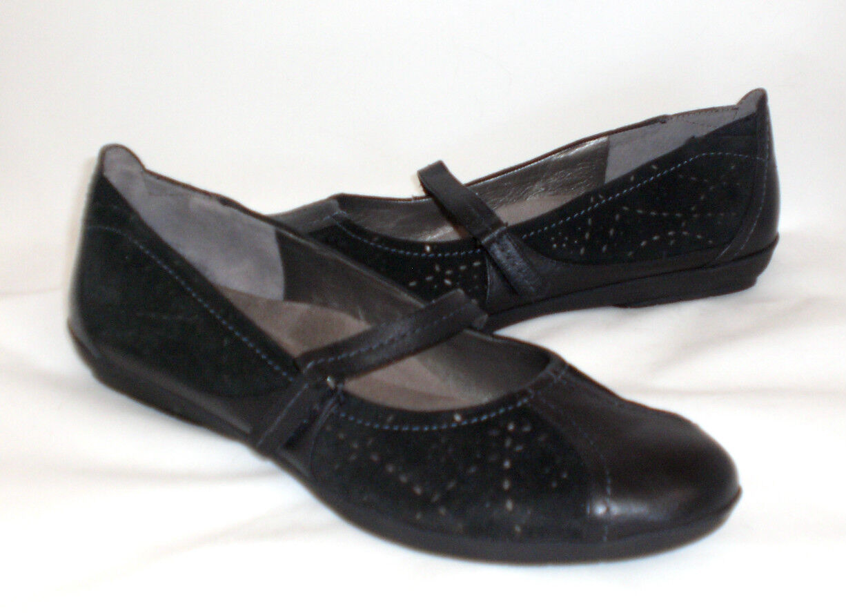 Easy Spirit Lader flats suede leather sz 10 Med NEW
