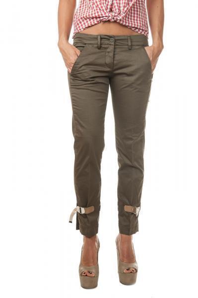 Dondup  -  Pants - Female - Green - 2137513A185804