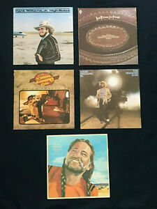 Hank-Willaims-Jr-Lot-Willie-Nelson-039-s-Greatest-Hits-5-Lot