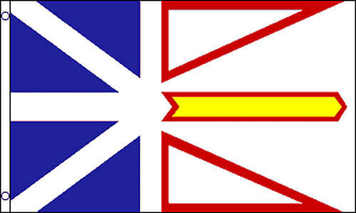NEWFOUNDLAND and LABRADOR FLAG 5/' x 3/' Canada Canadian Province Flags
