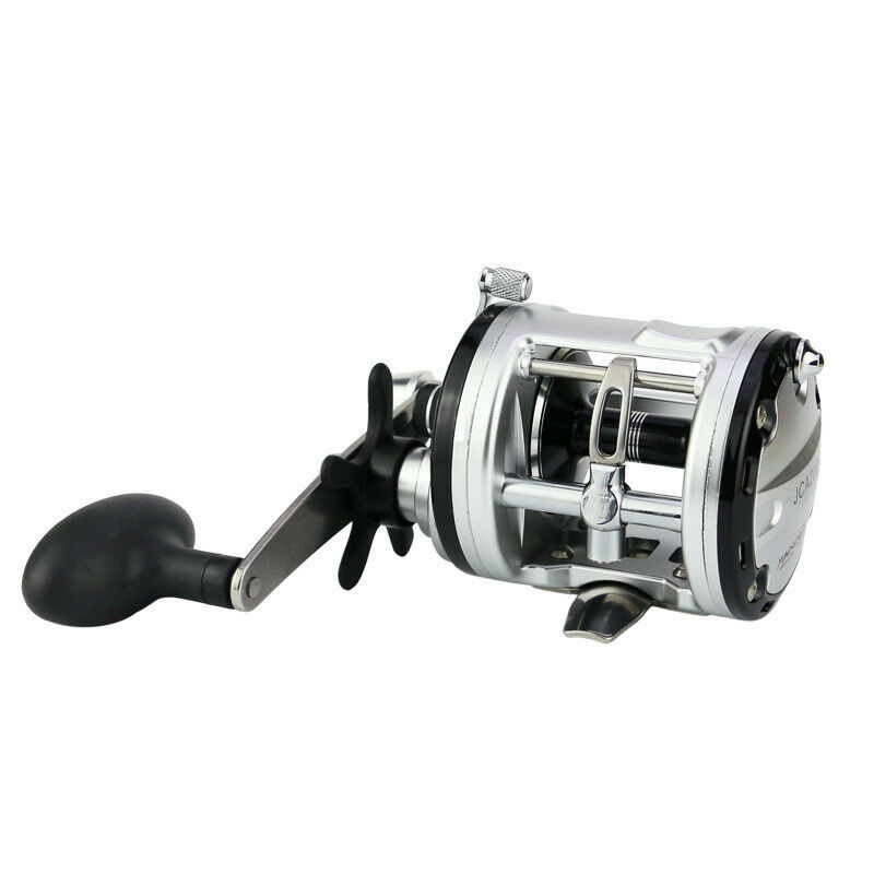 JCA 200 300 400 500 Right Hand 13BB Drum Fishing Reel Strong Power Force Wheel